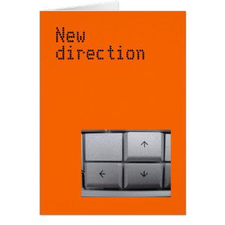 Nouvelle carte de direction