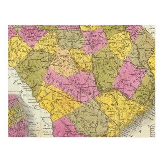 Nouvelle carte de la Caroline du Sud