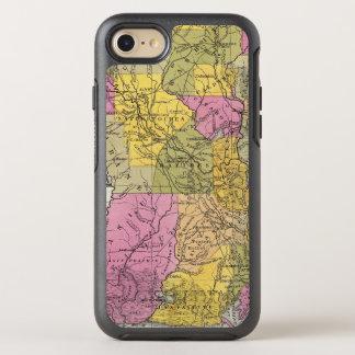 Nouvelle carte de la Louisiane 3 Coque Otterbox Symmetry Pour iPhone 7