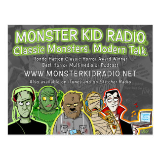Nouvelle carte de radio d'enfant de monstre