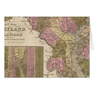 Nouvelle carte du Maryland et du Delaware