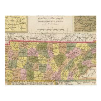 Nouvelle carte du Tennessee