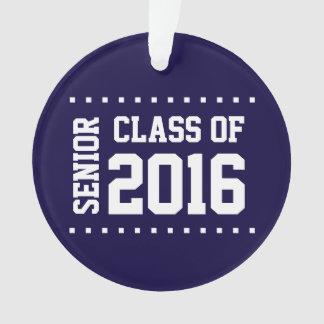 Nouvelle classe personnalisable de l'ornement 2016