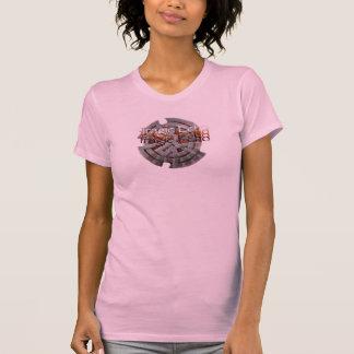 Nouvelle conception tragique d'écho de dames t-shirt