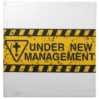 nouvelle gestion serviette imprimée