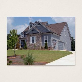 nouvelle maison à vendre cartes de visite