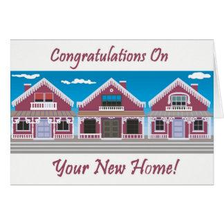 F licitations sur votre nouvelle maison cartes - Carte de voeux maison ...