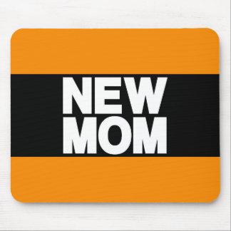 Nouvelle orange d atterrisseur de maman tapis de souris