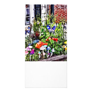 Nouvelle PA d'espoir - jardin des champignons en Photocartes Personnalisées