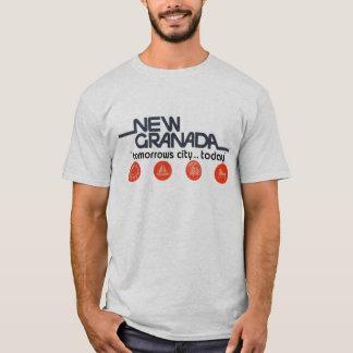 Nouvelle ville de demains de Grenade aujourd'hui T-shirt