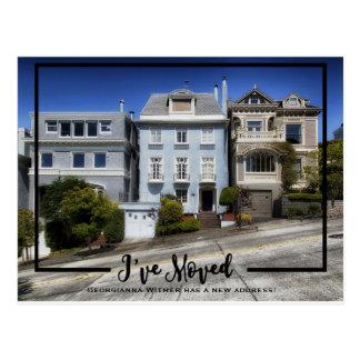 Nouvelle vue à la maison de noir de photo j'ai cartes postales