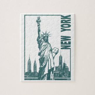 Nouvelle York-Statue de la liberté Puzzles