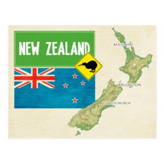 ♥ Nouvelle Zélande de CARTES POSTALES de CARTE
