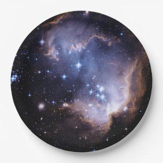 Nouvellement formation des étoiles assiettes en papier