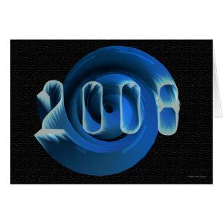 Nouvelles années 2008 carte de vœux