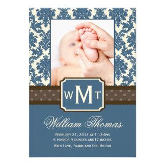 Nouvelles cartes de faire-part de bébé