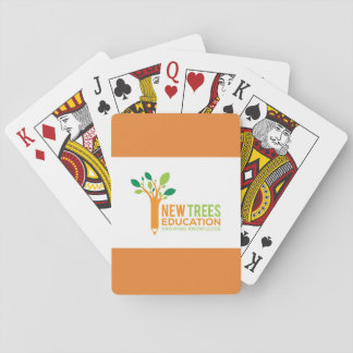 Nouvelles cartes de jeu d'éducation d'arbres jeu de cartes