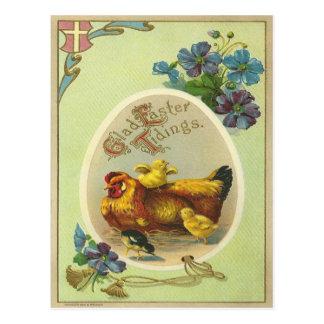 Nouvelles vintages de Pâques Cartes Postales