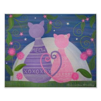 Novembre doux - les chats de 8x10 Kitty dans Posters