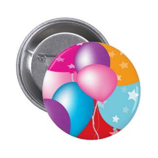 NOVINO Celeberations - Baloons, coeurs des étoiles Badges
