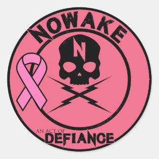 """NOWAKE """"une Loi autocollants de BCA de défi"""""""