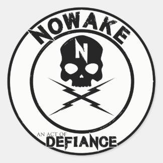"""NOWAKE """"une Loi autocollants de défi"""""""