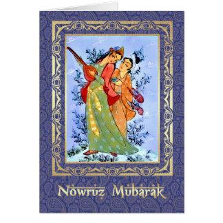 Nowruz Mubarak. Cartes de voeux persanes de