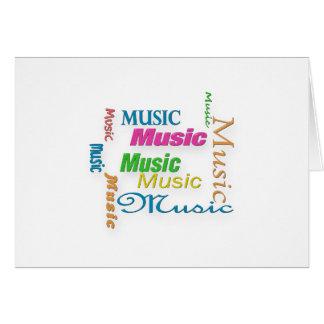 Nuage 3 de MusicWord Cartes De Vœux