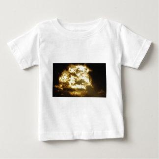 Nuage doré t-shirt pour bébé