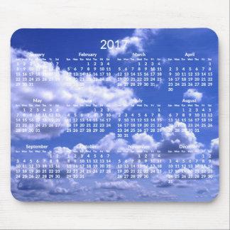 Nuages annuels faits sur commande de tapis de tapis de souris
