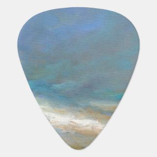 Nuages côtiers avec l'océan onglet de guitare