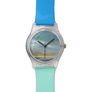 Nuages côtiers montres bracelet