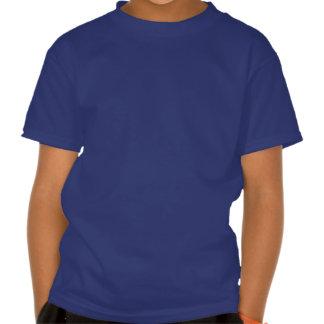 Nuages dans un ciel bleu t-shirts