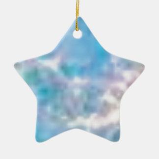 nuages de gloire ornement étoile en céramique