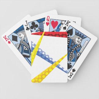 Nuages et avions jeu de cartes