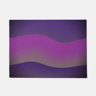 Nuances de conception d'art moderne de tapis de
