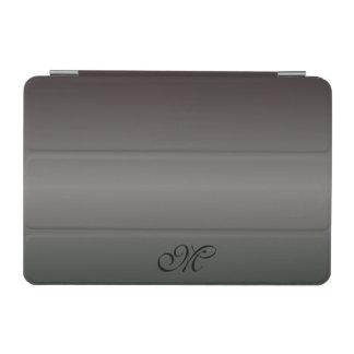 Nuances de monogramme noir protection iPad mini