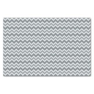Nuances de papier de soie de soie rayé gris de