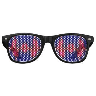 Nuances de partie de vibrations lunettes de soleil