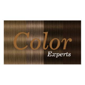 Nuances des cartes de visite de salon de couleur d cartes de visite professionnelles