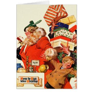 Nuit avant Noël Cartes
