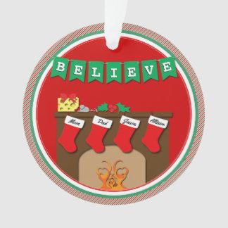 Nuit avant Noël embrassant des souris • 4 bas