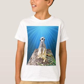 Nuit bleue de Meerkat, _ T-shirt