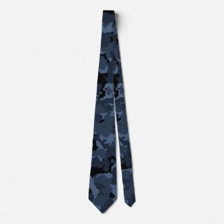 Nuit Camo Cravate Avec Motifs