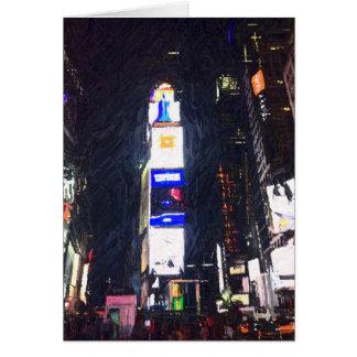 Nuit dans la ville, carte