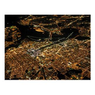 Nuit d'antenne de Washington DC Carte Postale