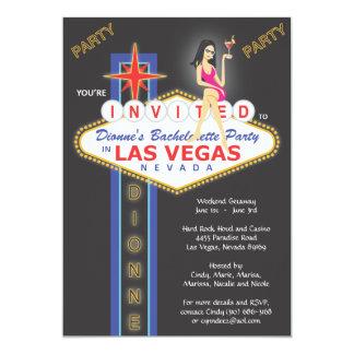 Nuit de filles de Custom_Dionne Carton D'invitation 12,7 Cm X 17,78 Cm