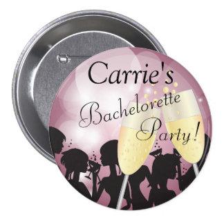 Nuit de filles de diva de Bachelorette de rose de Badges