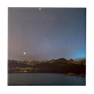 Nuit de galaxie de lac colorado Brainard Carreau