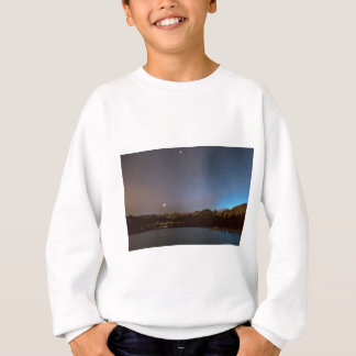 Nuit de galaxie de lac colorado Brainard Sweatshirt